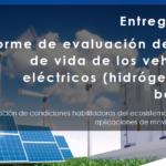 Informe de evaluación de ciclo de vida de vehículos eléctricos