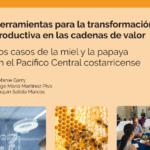 Herramientas para la transformación productiva en las cadenas de valor de miel y papaya en Pacífico Central